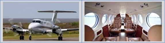 Beech King Air B200 Executive Fit - Crooked Compass by Air