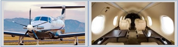 Pilatus PC-12 Executive Fit - Crooked Compass by Air