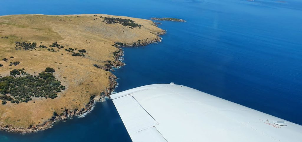 Golden Louth Island off the coast from Port Lincoln