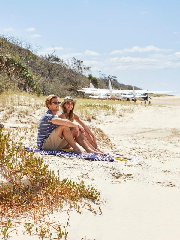 Fraser Island Tourism & Events Queensland - Crooked Compass by Air