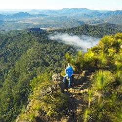 Hiking the Scenic Rim - Crooked Compass by Air