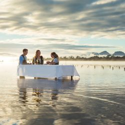 Saffire Freycinet Marine Oyster Farm Experience - Crooked Compass by Air